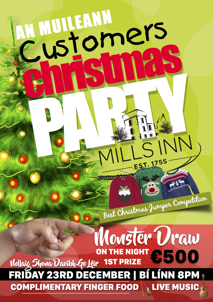 Mills Inn Christmas Party 2016