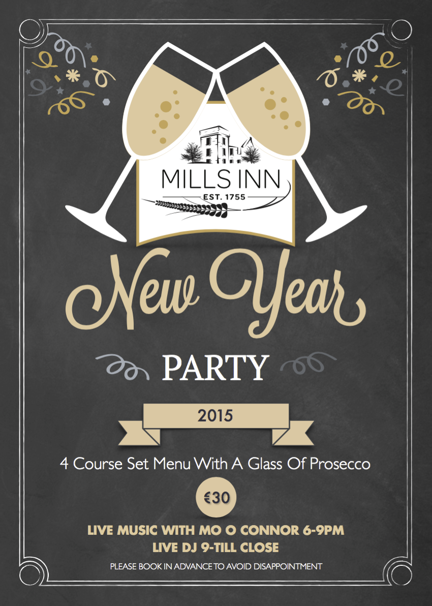 New Years Party Mills Inn 2015