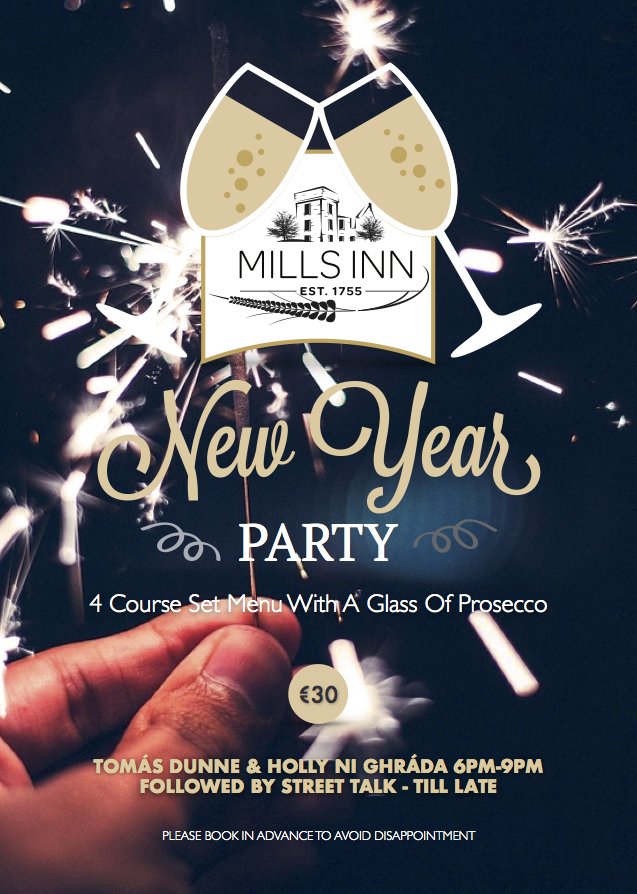 Mills Inn New Years 2016