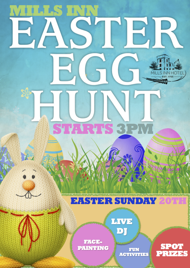 The Mills Inn Easter Egg Hunt 2014