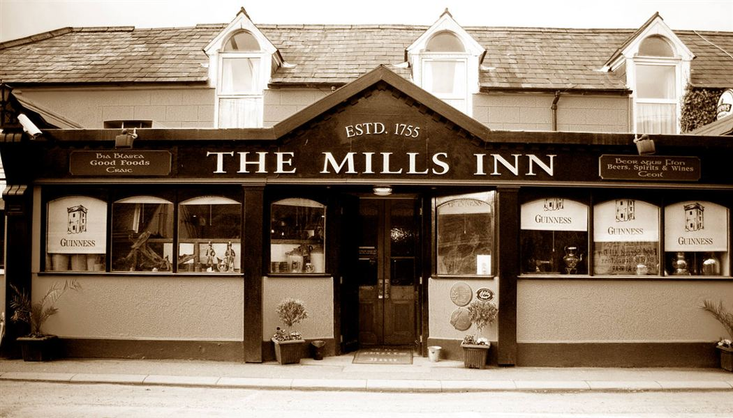 The Mills Front Black and White