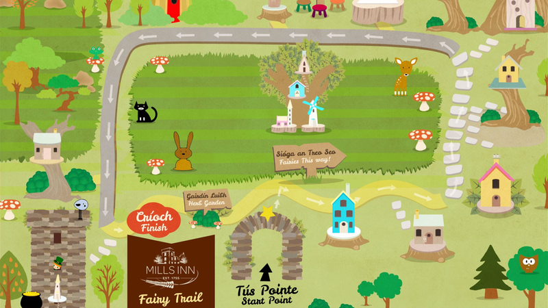 Mills Inn Fairy Trail Panel Image